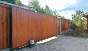 Откатные ворота ОВ-6