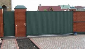 Откатные ворота ОВ-7