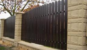 Забор из штакетника ЗД-1