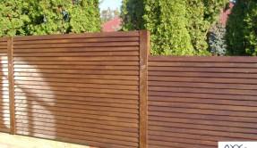 Забор из дерева Елочка ЗД-4