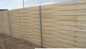 Забор из дерева Плетенка ЗД-5