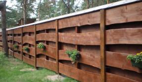 Забор из дерева Изгородь ЗД-8