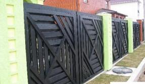 Забор из дерева Авторский1 ЗД-10