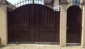 Распашные ворота РВ-11