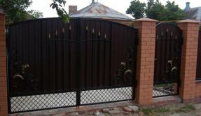 Распашные ворота РП-12
