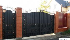 Распашные ворота РВ-13