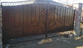 Распашные ворота РВ-19