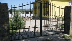 Распашные ворота РВ-21