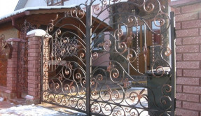 Распашные ворота РВ-22