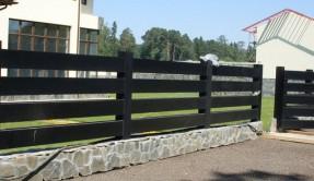 Забор из дерева Ограждение ЗД-12