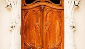 Дверь металлическая дерево ДМ-8