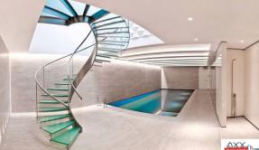 Металлические лестницы МЛ-1
