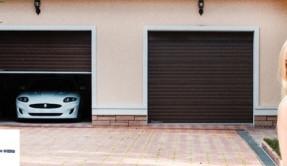 Секционные гаражные ворота СВ-10