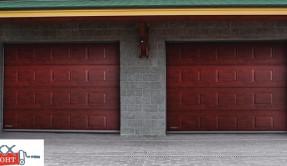 Секционные гаражные ворота СВ-11