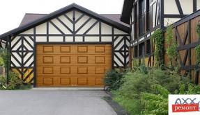 Секционные гаражные ворота СВ-12