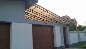Секционные гаражные ворота СВ-14