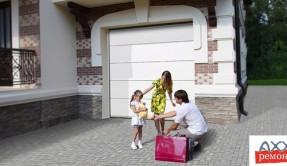 Секционные гаражные ворота СВ-16