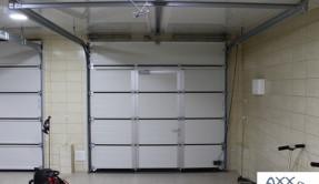 Секционные гаражные ворота СВ-17