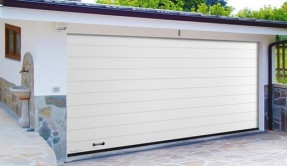 Секционные гаражные ворота СВ-2