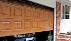 Секционные гаражные ворота СВ-4