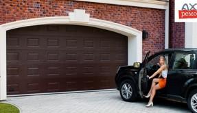 Секционные гаражные ворота СВ-8