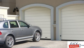 Секционные гаражные ворота СВ-9